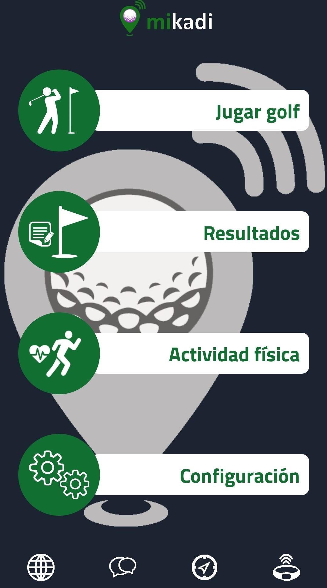 Aplicación golf gratuita