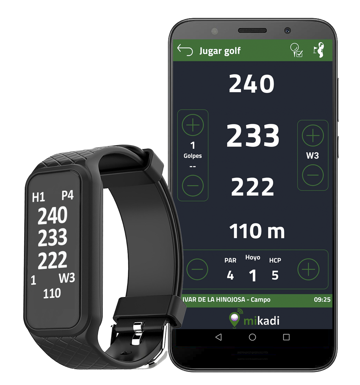 Reloj Golf GPS distancias