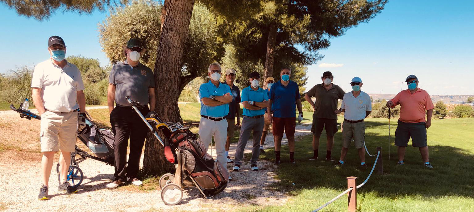Measures to play golf during the Coronavirus in Spain