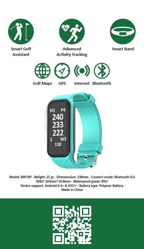 Golf Watch and Fitness Tracker
